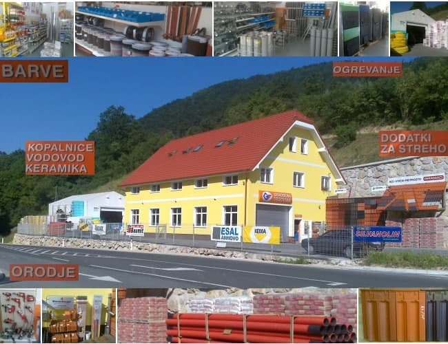 Gradbena trgovina